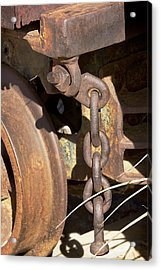 Ore Car Chain Acrylic Print