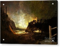 Oregon Beach Acrylic Print