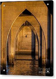 Oregon Bridge 1 Acrylic Print