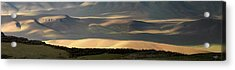 Acrylic Print featuring the photograph Oregon Canyon Mountain Layers And Textures by Leland D Howard