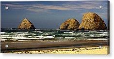 Oregon Coast 14 Acrylic Print by Marty Koch