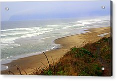 Oregon Coast 3 Acrylic Print by Marty Koch