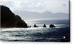 Oregon Coast 5 Acrylic Print by Marty Koch