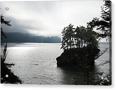 Oregon Coast Fog Acrylic Print