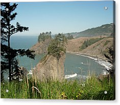 Oregon Coast Near Brookings Acrylic Print by Bonita Waitl