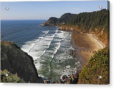 Oregon Coast No 1 Acrylic Print