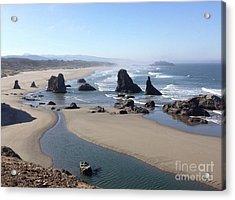 Oregon Coast Sea Stacks Acrylic Print