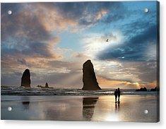 Oregon Coastine Acrylic Print