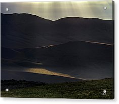 Acrylic Print featuring the photograph Oregon Mountains 1 by Leland D Howard