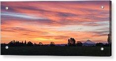 Oregon Sunrise Acrylic Print