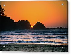 Oregon Sunset Acrylic Print