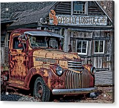 O'reilly Lobster Pound Acrylic Print
