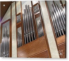Acrylic Print featuring the photograph Organ Pipes by Ann Horn