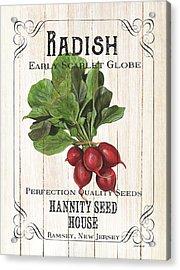 Organic Seed Packet 3 Acrylic Print by Debbie DeWitt