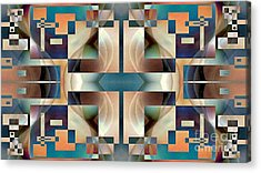 Organic Symetry Acrylic Print by Jack Dillhunt