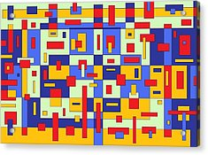 Organize Acrylic Print