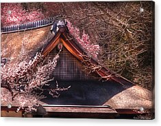 Orient - Shofuso House Acrylic Print by Mike Savad