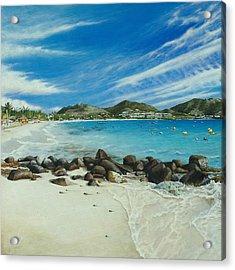 Orient Beach Acrylic Print