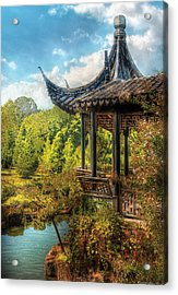 Orient - From A Chinese Fairytale Acrylic Print by Mike Savad