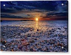 Orient Point Sunrise Acrylic Print by Rick Berk