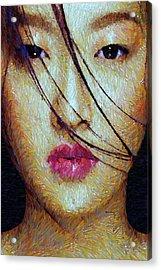 Oriental Expression 0701 Acrylic Print