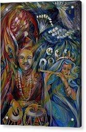Oriental Fairy Tale.part Two Acrylic Print by Anna  Duyunova