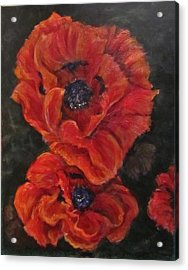 Oriental Poppys  Acrylic Print