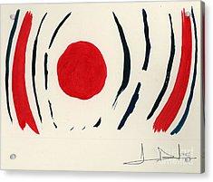Oriental Sun Acrylic Print