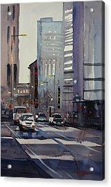 Oriental Theater - Chicago Acrylic Print by Ryan Radke