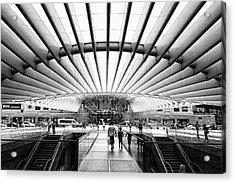 Oriente Station Acrylic Print by Stefan Nielsen
