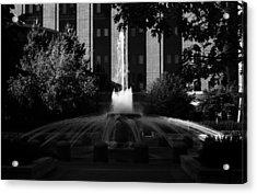 Original Fountain Acrylic Print