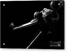 Original Luke Skywalker X-wing Fighter 2 Acrylic Print by Micah May