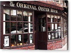Original Oyster House Acrylic Print by John Rizzuto