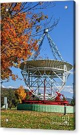 Original Radio Telescope Acrylic Print by Thomas R Fletcher
