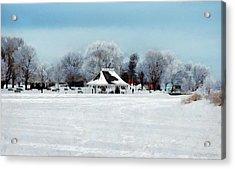 Orillia Winter Acrylic Print