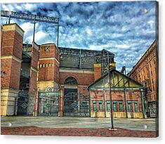 Oriole Park At Camden Yards Gate Acrylic Print