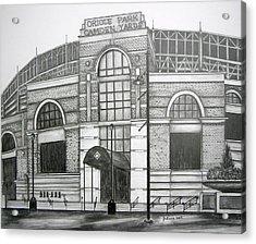 Oriole Park Camden Yards Acrylic Print by Juliana Dube