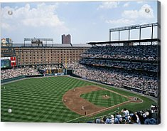 Orioles Park. Kansas City Royals Acrylic Print by Brian Gordon Green