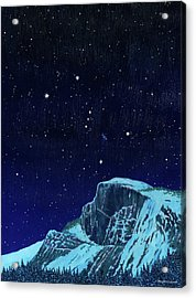 Orion Over Yosemite Acrylic Print