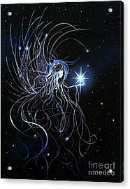 Orions Angel Acrylic Print by Pauline Ross