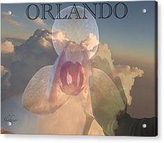 Orlando In Our Mind Acrylic Print
