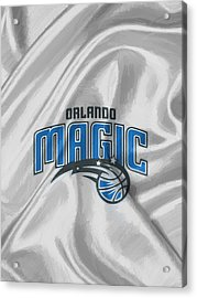 Orlando Magic Acrylic Print by Afterdarkness