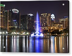 Orlando Skyline Acrylic Print