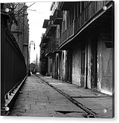 Orleans Alley Acrylic Print