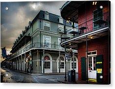 Orleans And Bourbon Acrylic Print