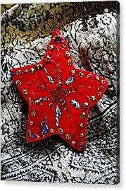 Ornaments 15 Acrylic Print by Sarah Loft