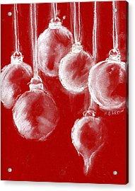 Ornaments Acrylic Print by Marilyn Barton