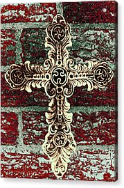 Ornate Cross 1 Acrylic Print