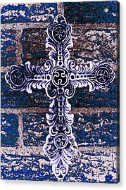 Ornate Cross 2 Acrylic Print