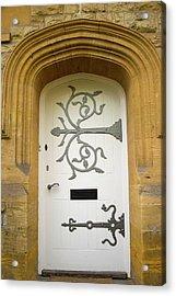 Ornate Door 1 Acrylic Print by Douglas Barnett